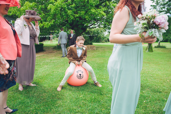 A pretty real wedding in Somerset