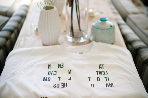 Put a personal spin on your wedding theme, like this real couple