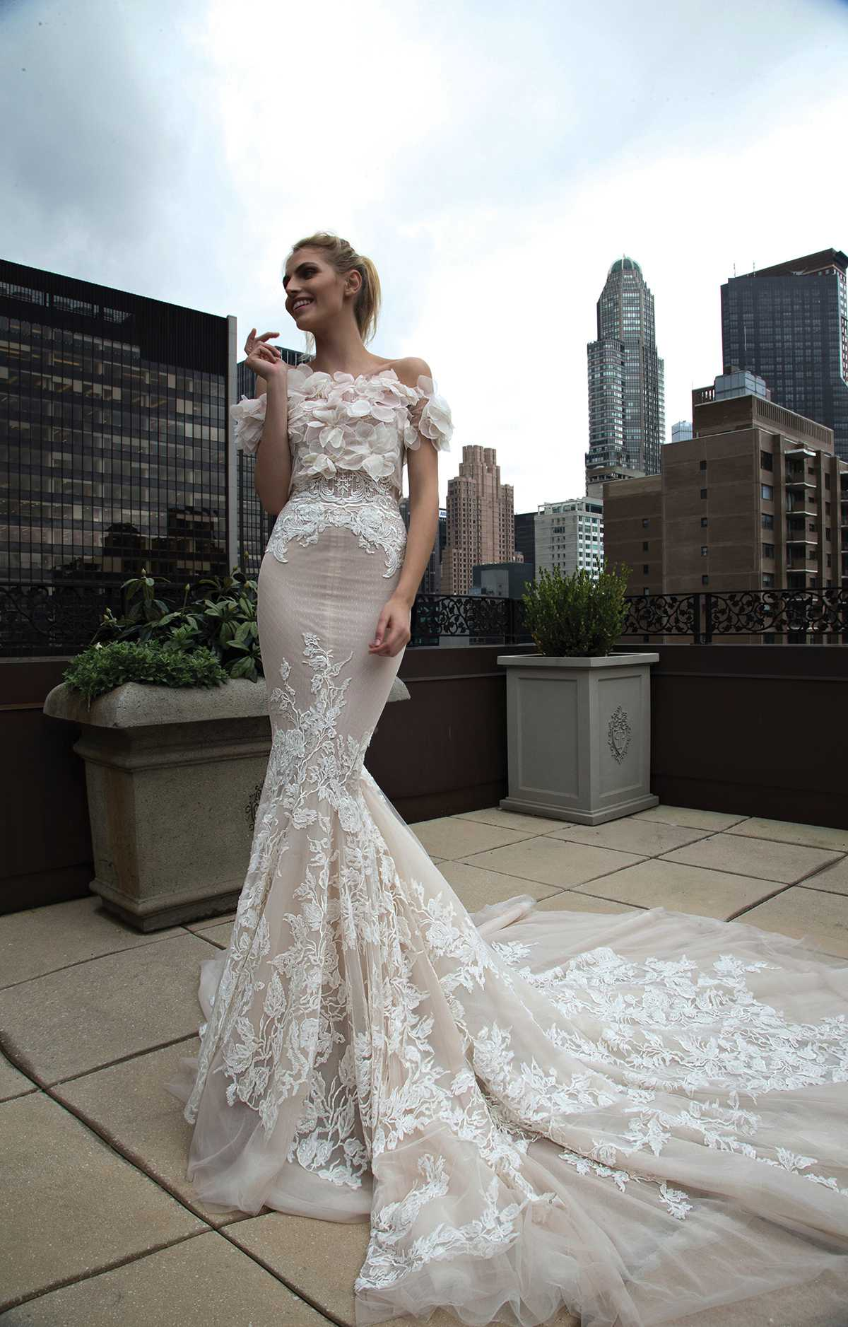 Divine bridal gowns from Inbal Dror - Love Our Wedding