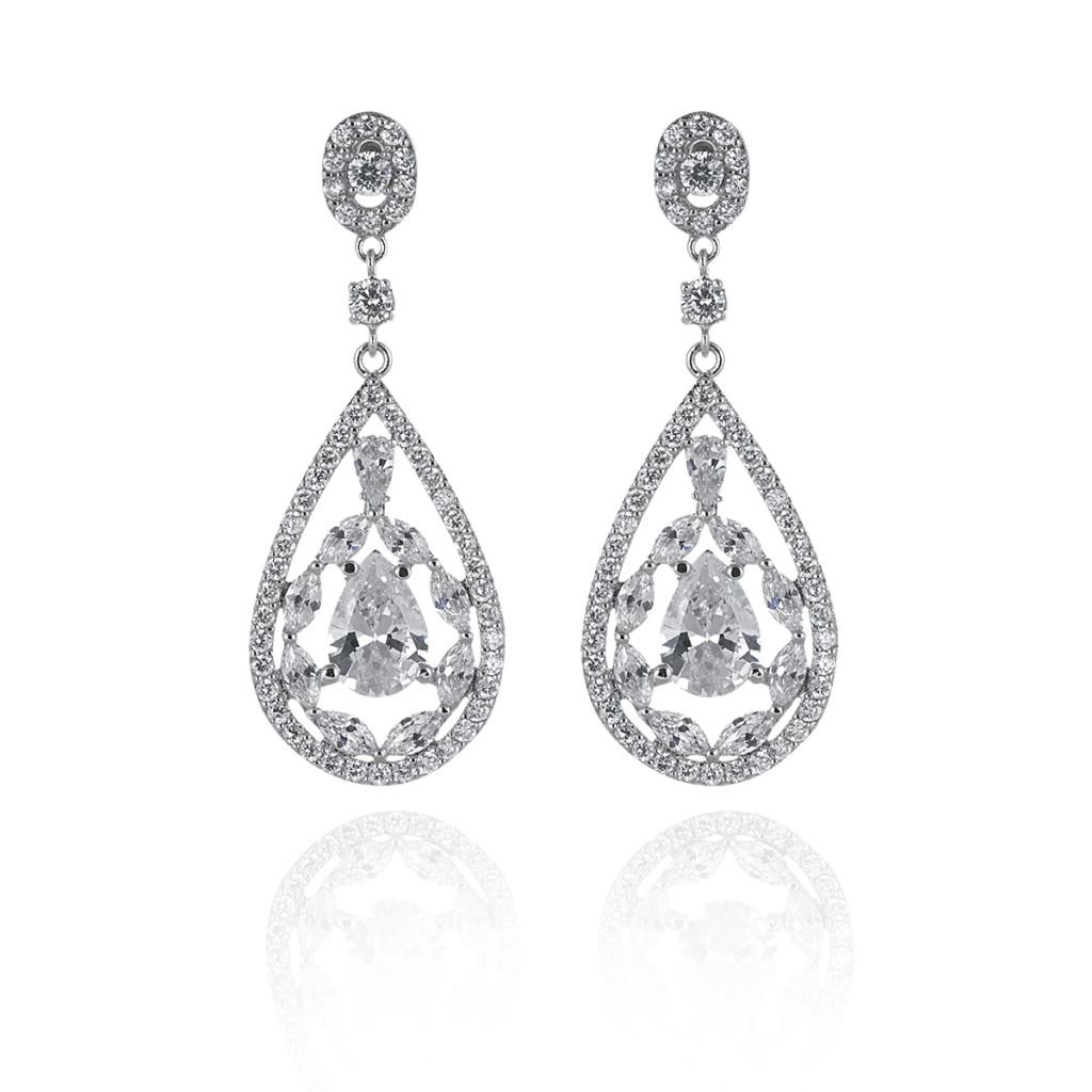 Clara Bridal earrings