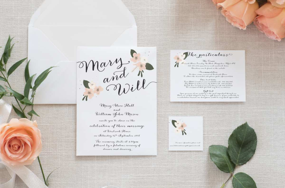 The top 6 wedding stationery trends love our wedding the top 6 wedding stationery trends junglespirit