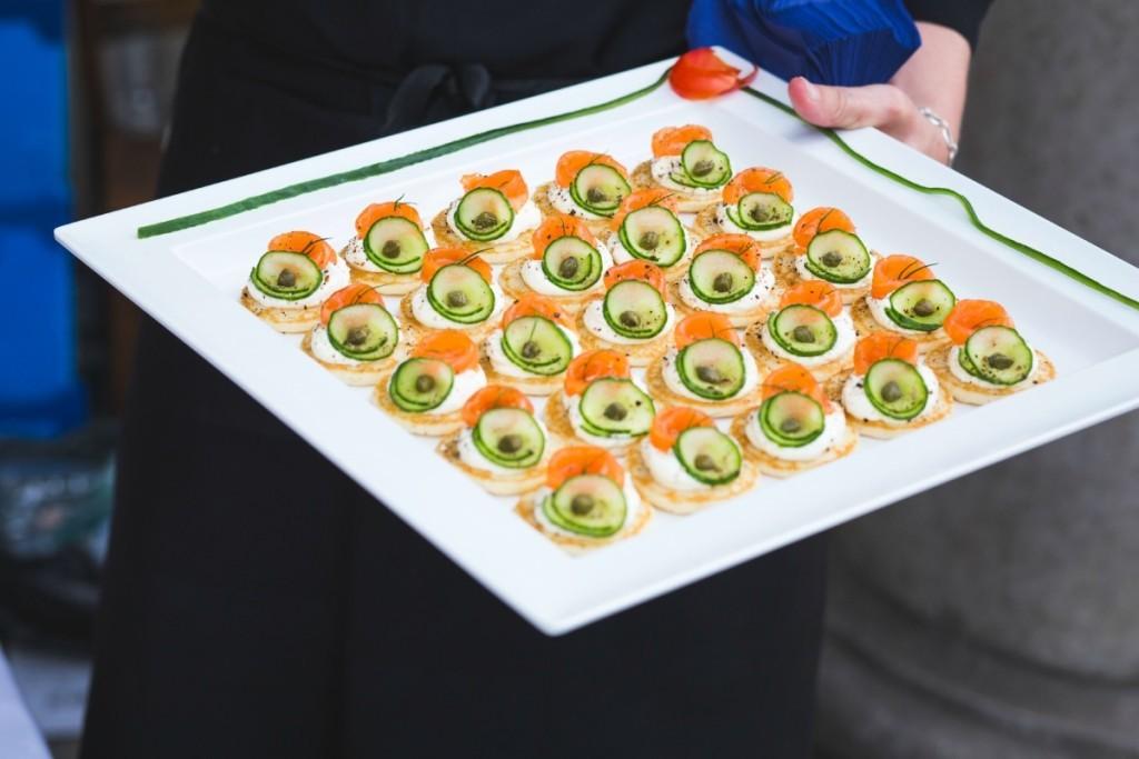 Wedding breakfast ideas from mimosa
