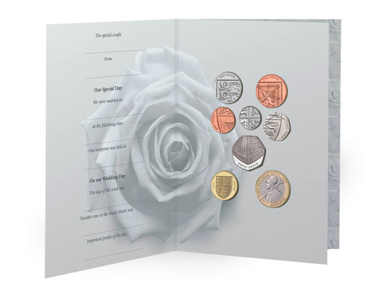 Wedding gift ideas from the Royal Mint