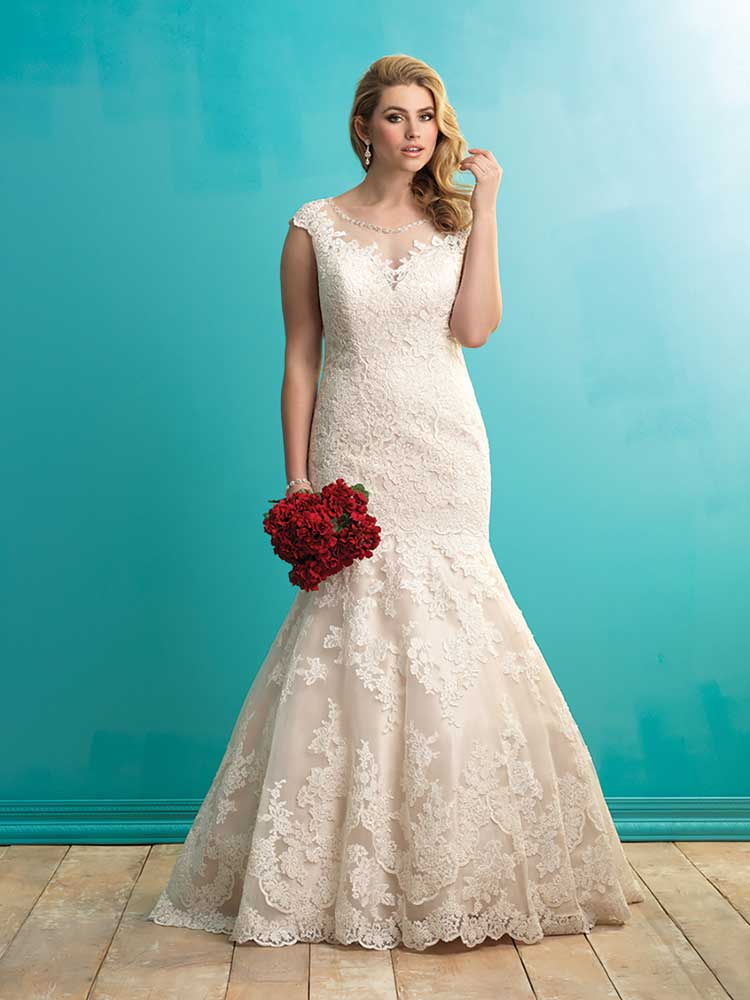 Wow-factor gowns for curvy brides from Allure Bridals - Love Our Wedding