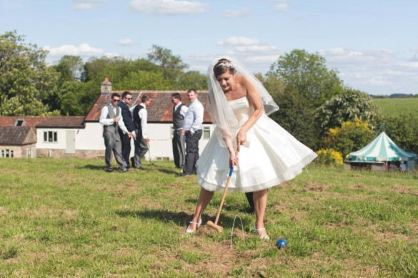 A bright and beautiful real wedding in the countryside