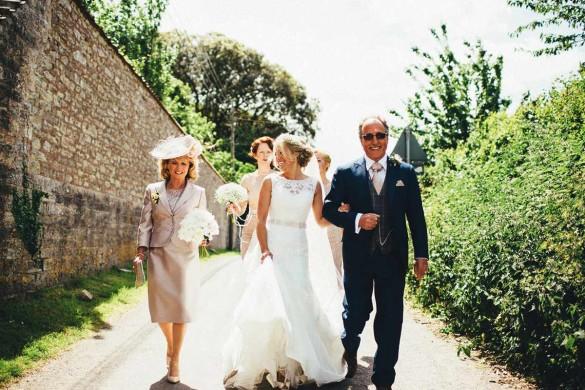 A pretty West Country wedding