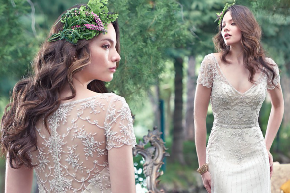 Maggie Sottero preview at Creatiques Bridal Boutique