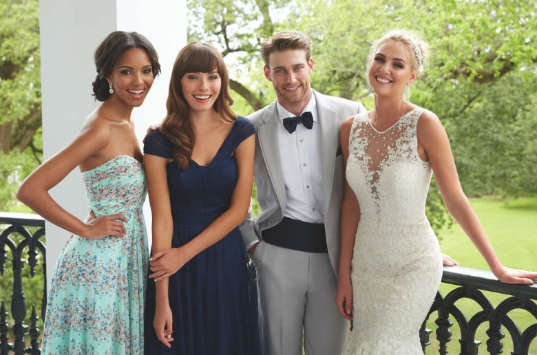 Bridesmaid gowns from Allure