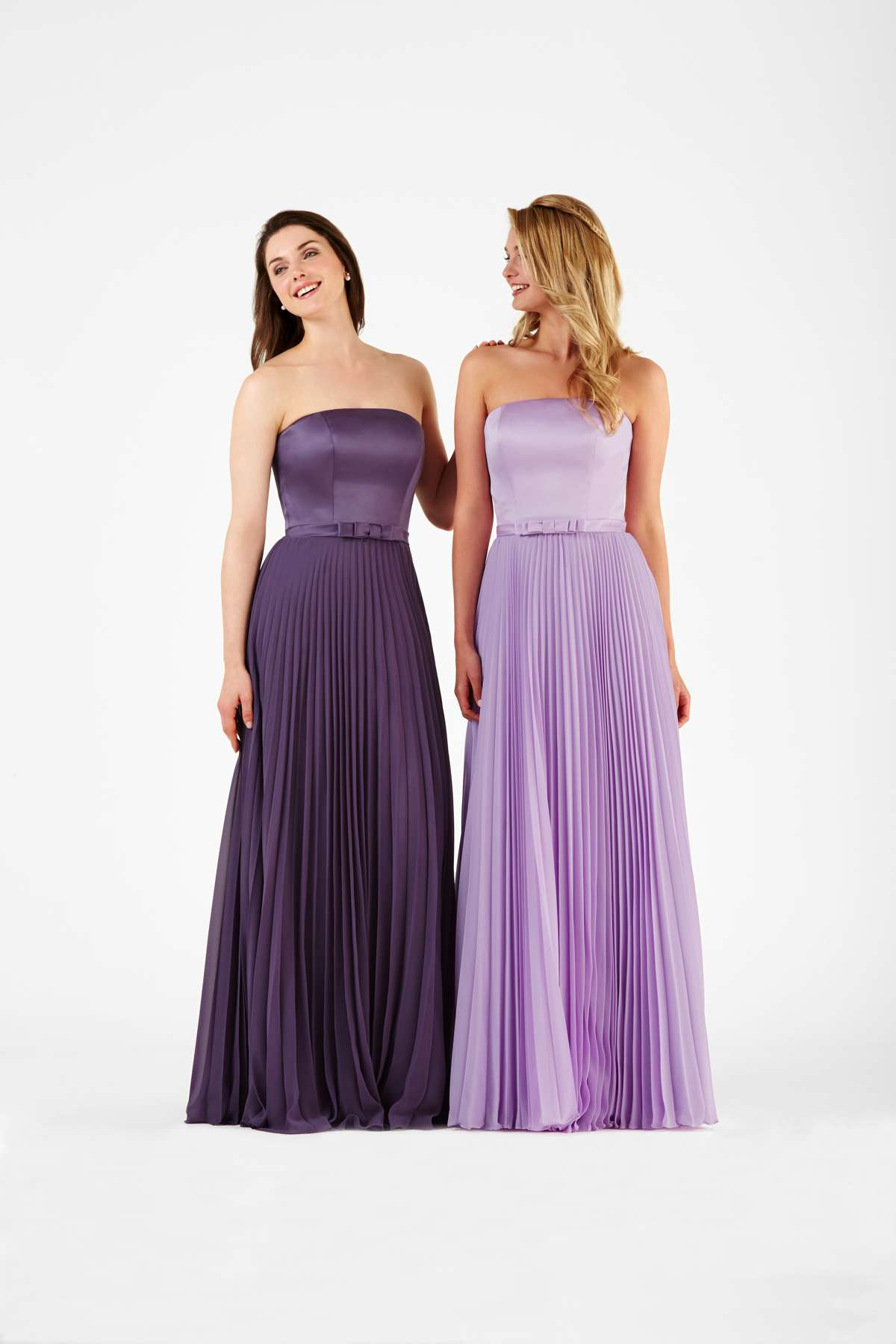 Beautiful bridesmaid gowns from EbonyRose Designs - Love Our Wedding
