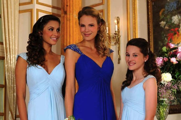 Veromia bridesmaid gowns