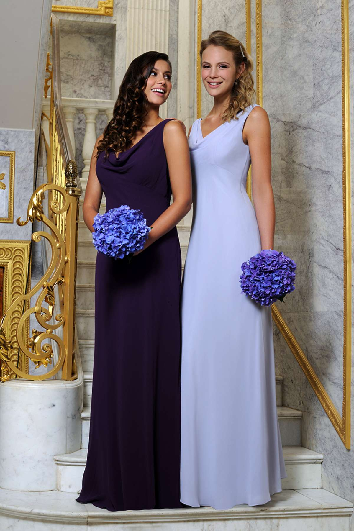 Stunning bridesmaid dresses at Veromia - Love Our Wedding