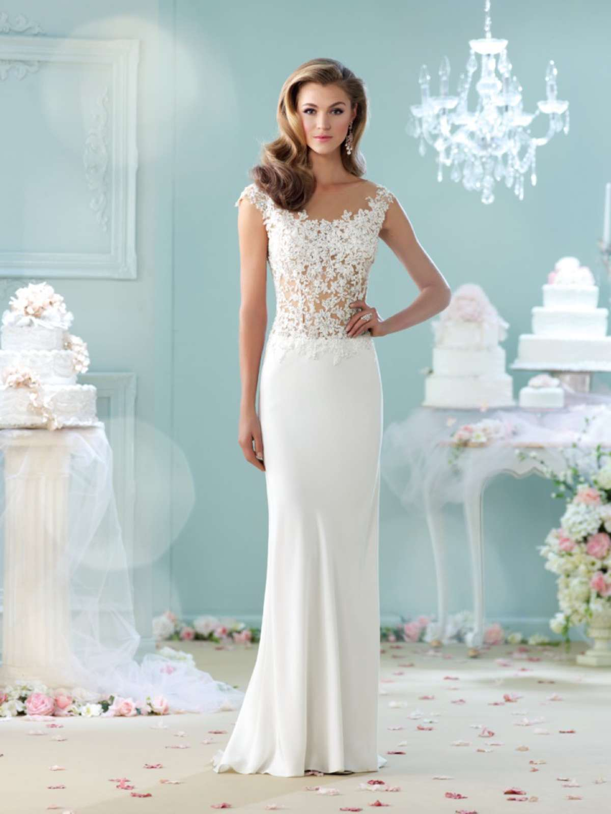 Fancy Wedding Dresses For Renewing Vows Pictures - All Wedding ...