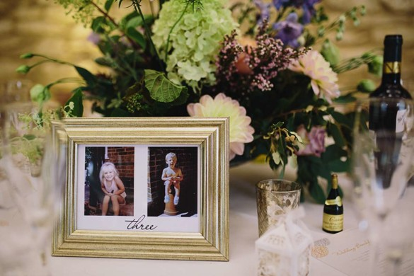 A wedding full of vintage glamour, and a hint of boho!