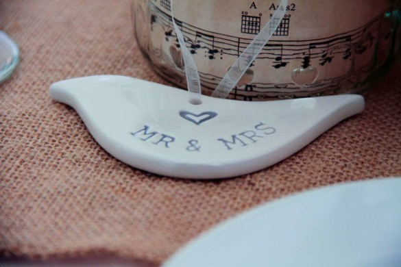 A gorgeous, music themed wedding