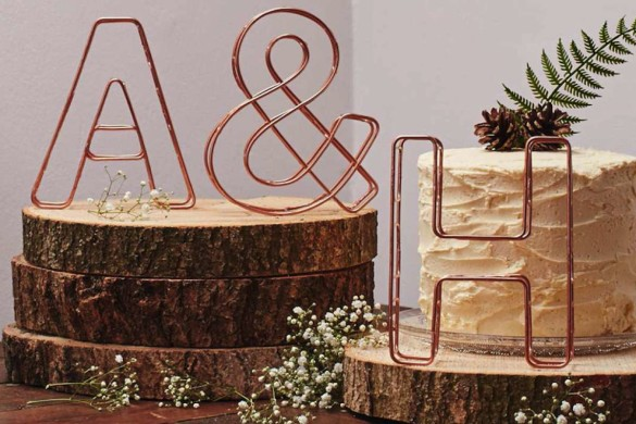 Wedding styling ideas from Not on the Highstreet