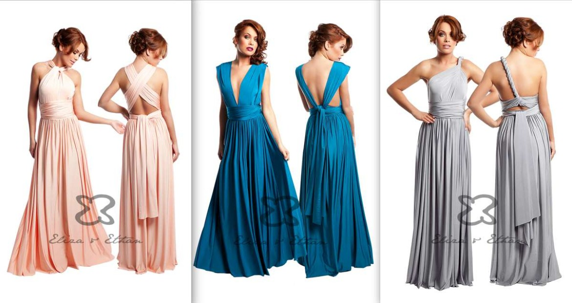 MultiWrap bridesmaid dresses