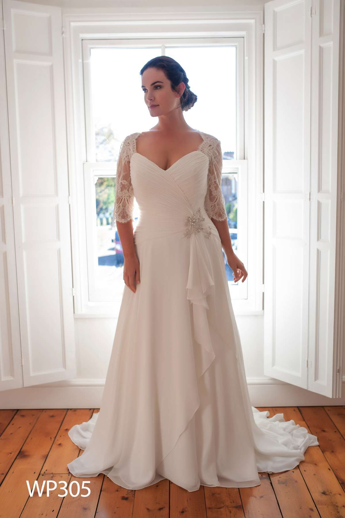 Fine White Rose Bridal Gowns Gallery - Wedding and flowers ...