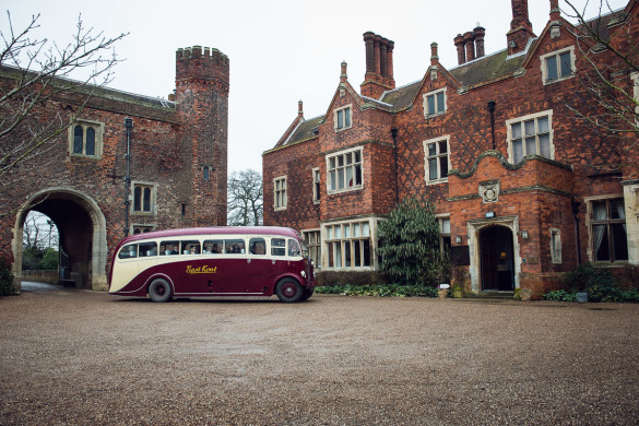 A wedding at Hodsock Priory, with a celebrity band!