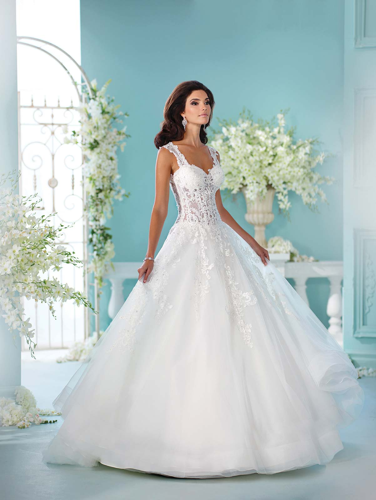Red Carpet Glamour From David Tutera Love Our Wedding