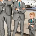 Matching wedding suits