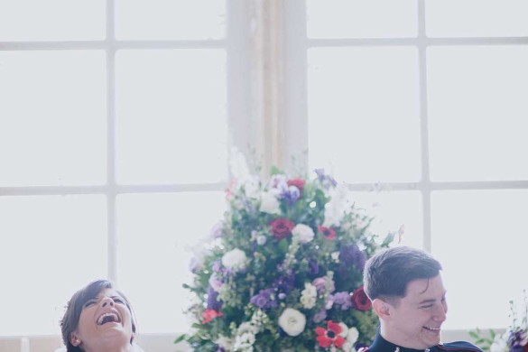 A gorgeous traditional wedding