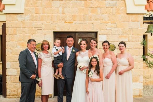 A beautiful wedding abroad
