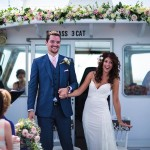 ceremony on a boat