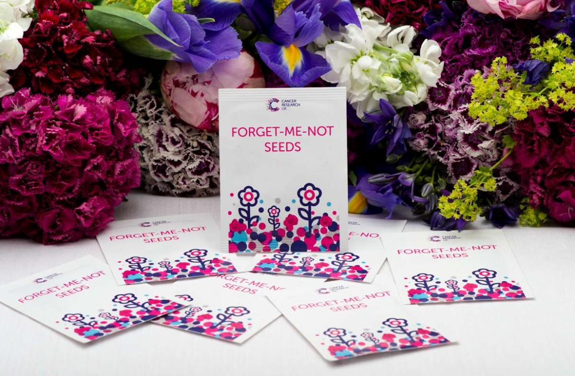 cancer research uk wedding favours