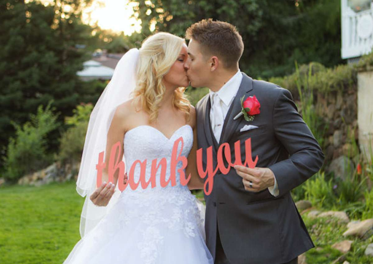 don t forget your wedding thank you cards love our wedding
