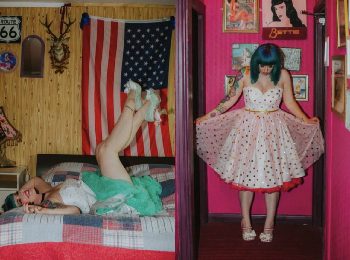 Rock n Roll bride & Irregular Choice