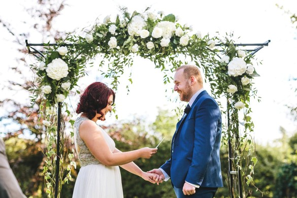 A fun outdoor wedding with beautiful details