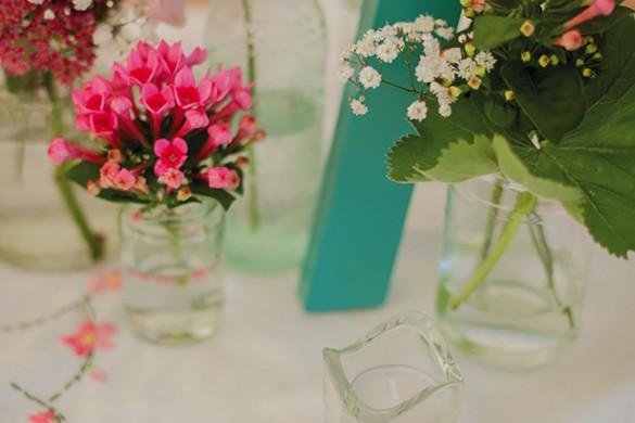 A pretty marquee wedding