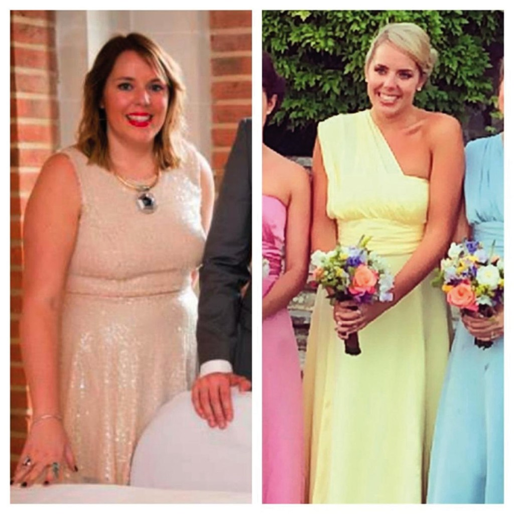 Bridesmaid weight loss story!