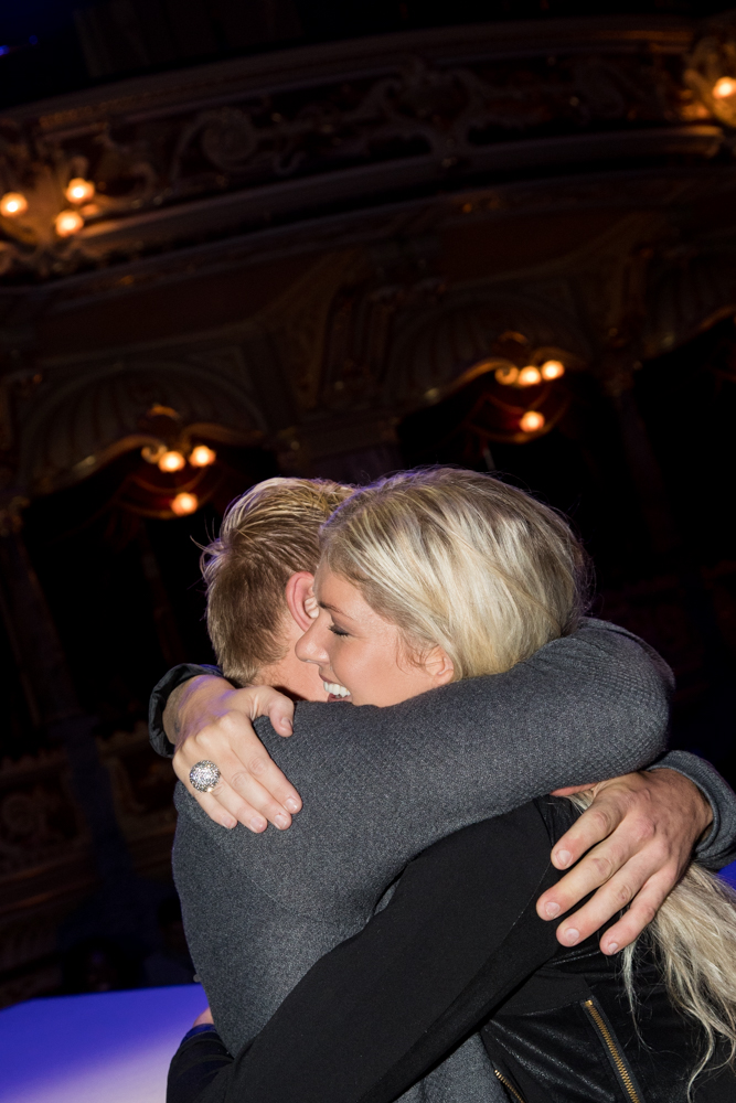 Surprise proposal at Harrogate Bridal Show