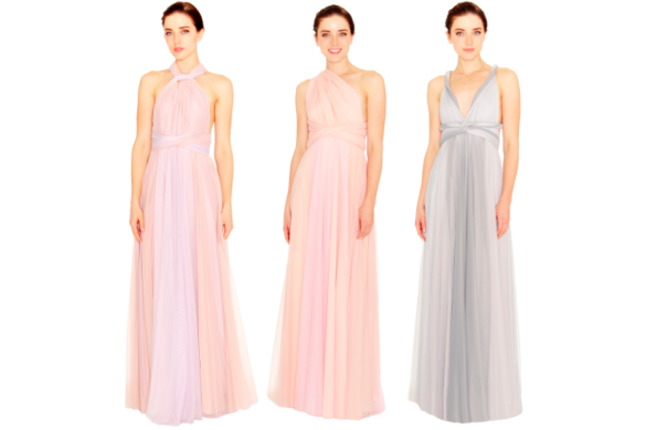 Ombre bridesmaid dresses from Twobirds