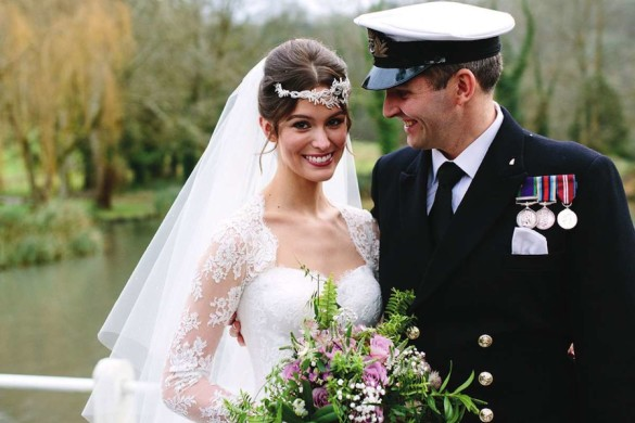 A regal wedding in Hampshire