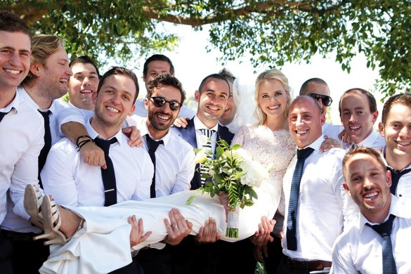 Get your groom involved in wedding planning!