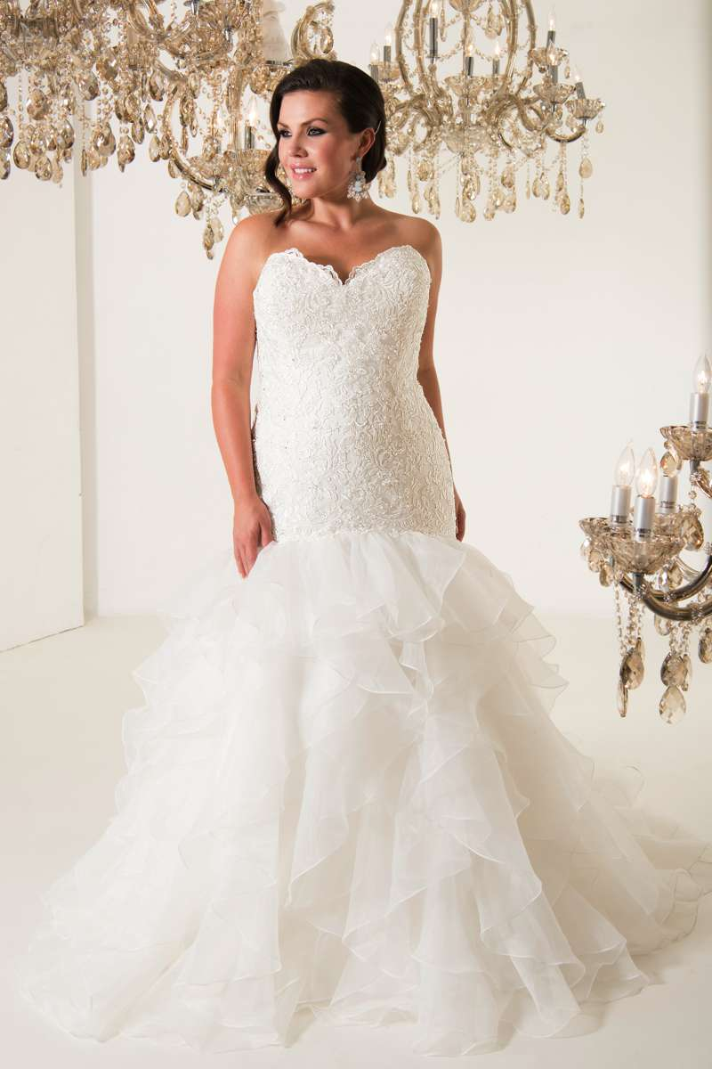 Plus Size Wedding Dresses Wales : The plus size bridal collection from callista love our wedding