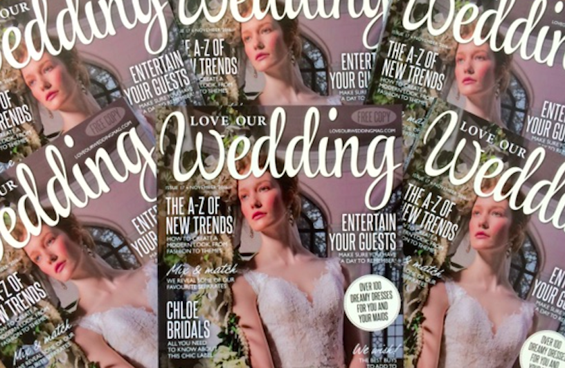 Our Stunning November Issue Is Out Now Love Our Wedding