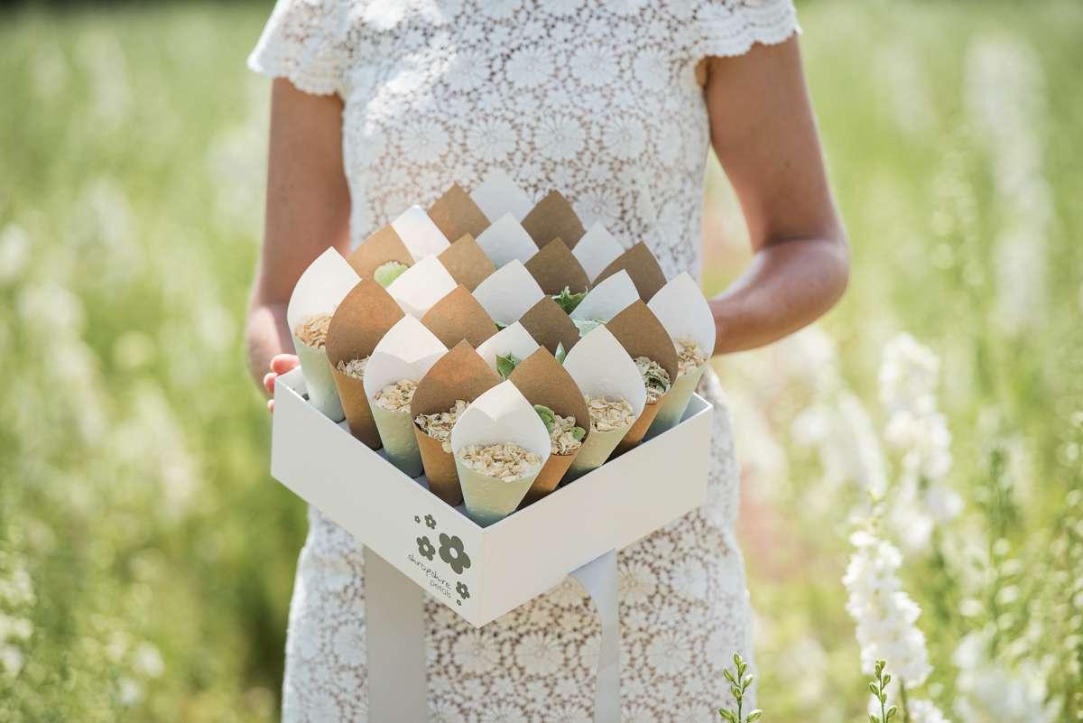 Wedding confetti etiquette