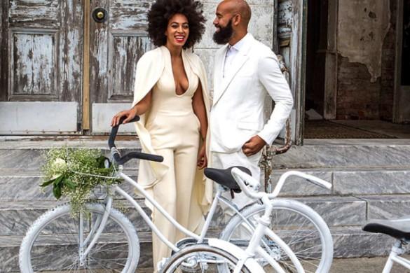 Celebrity wedding looks - Solange Knowles