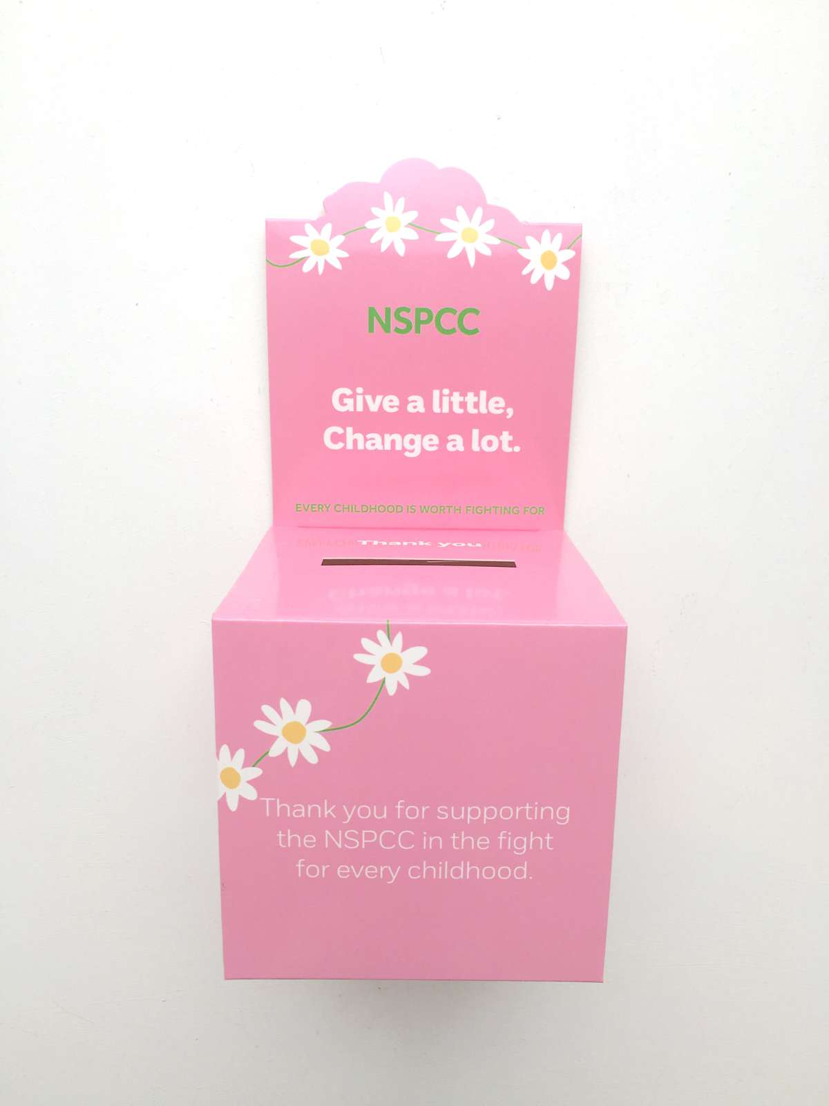NSPCC wedding favours