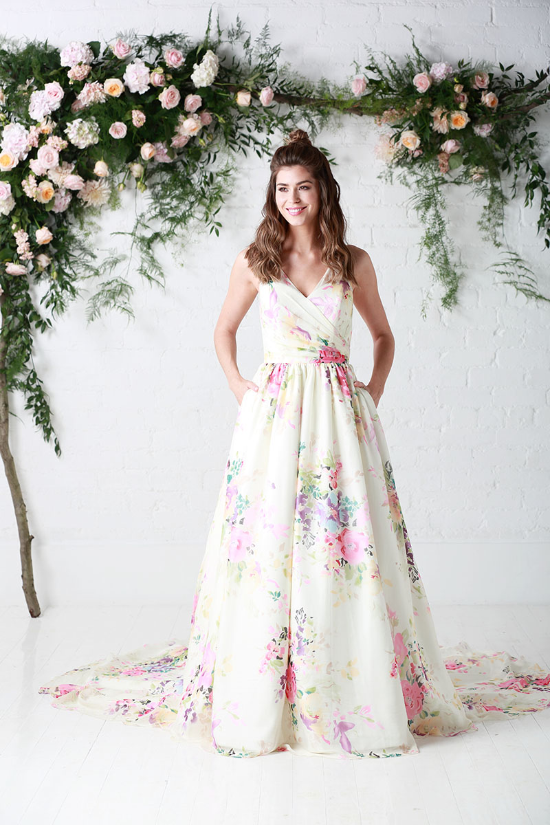 10 reasons to choose a floral wedding dress! - Love Our Wedding 890325825