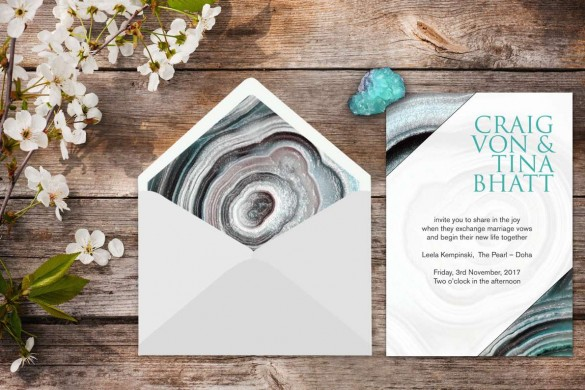 Wedding stationery trends 2017