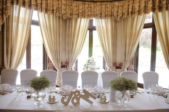 A classic white wedding