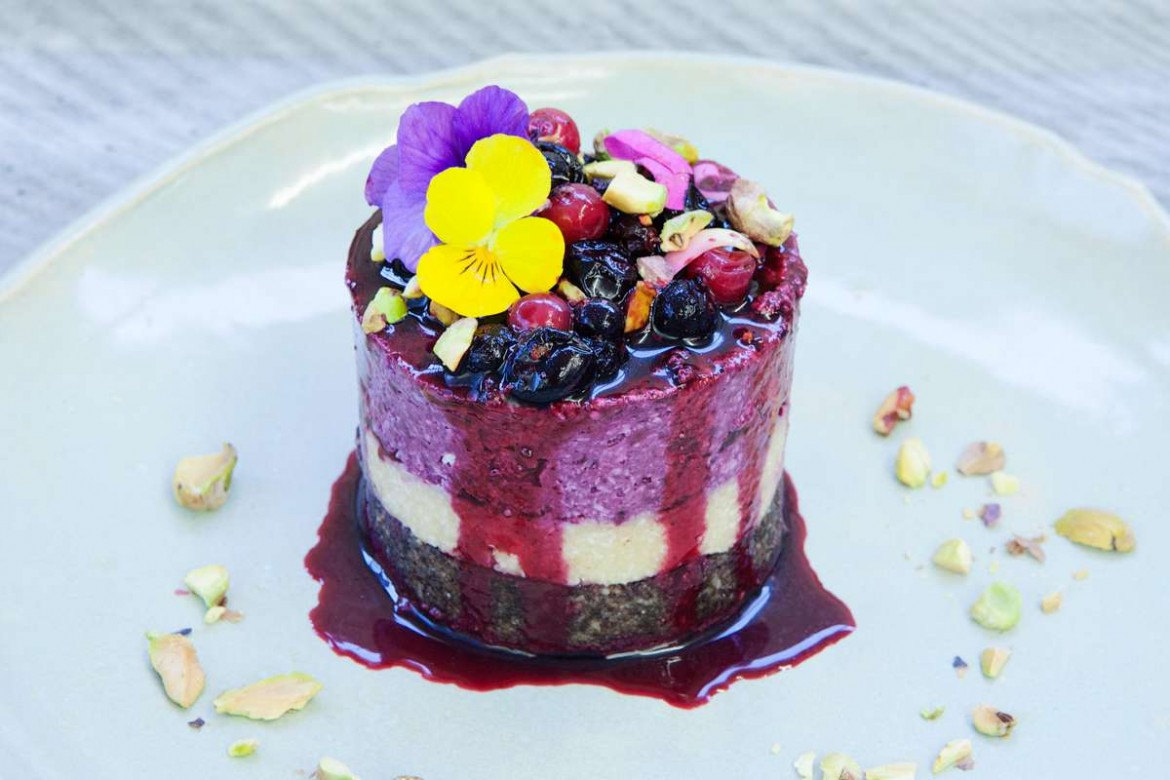 RAW & vegan wedding menus