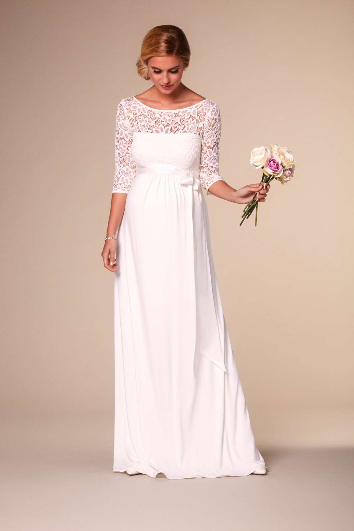 Stunning maternity wedding dresses love our wedding lucia ombrellifo Choice Image