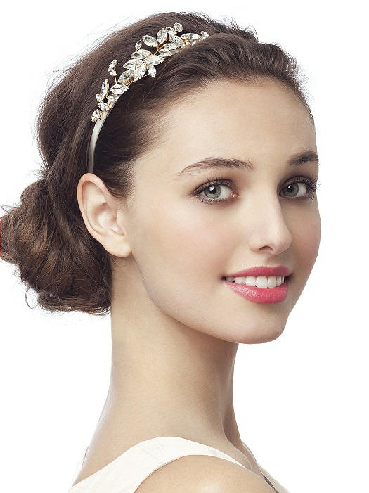 £14 vintage look embellished bridal headband