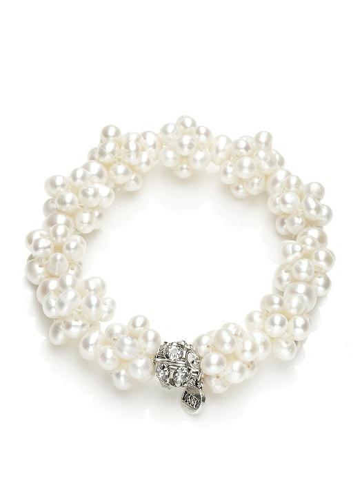 £17 freshwater pearl cluster bracelet 5803-NATU-front-big