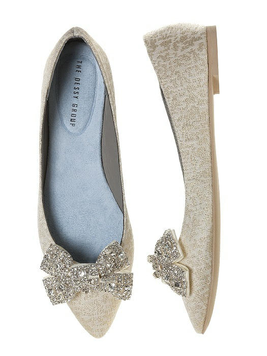 £18 gigi crystalline bow shoe clips8212-SILV-front-big